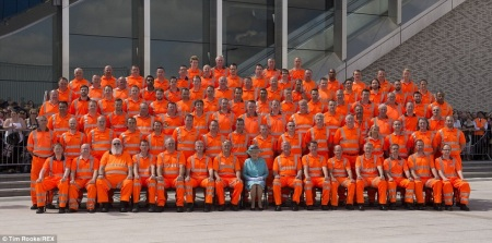 The Queen With The Orange Army