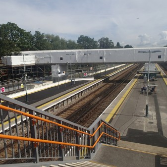 Refurbishing Twickenham Station