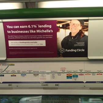 Funding Circle Does Underground Adverts