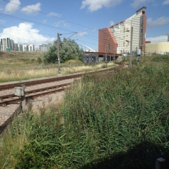 High Meads Loop At Stratford Joins North London Line