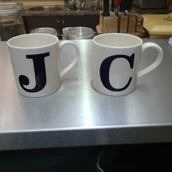 J And C Reunited In My Kitchen