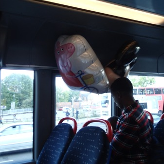 Inflated Balloons Are Allowed On Birmingham Buses