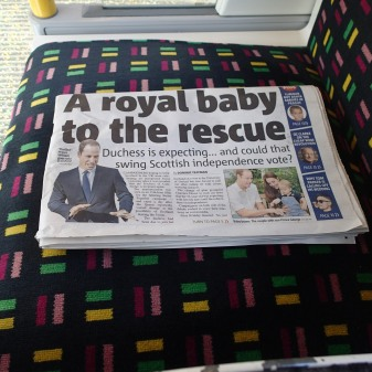 Could The News Of The Royal Baby Really Change The Referendum Result?