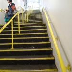 Stairs At London FieldsStation