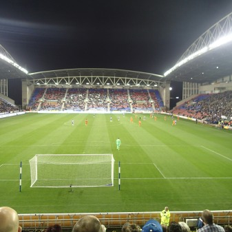 A Sparse Crowd At The Match