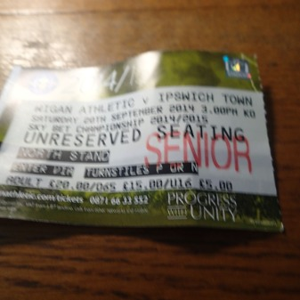 A Ticket With The Wrong Date