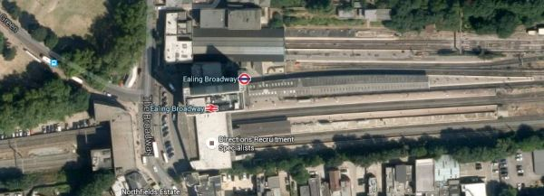Ealing Broadway Station - Downloaded 7th July 2015