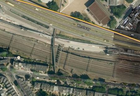 The Footbridge Over Crossrail