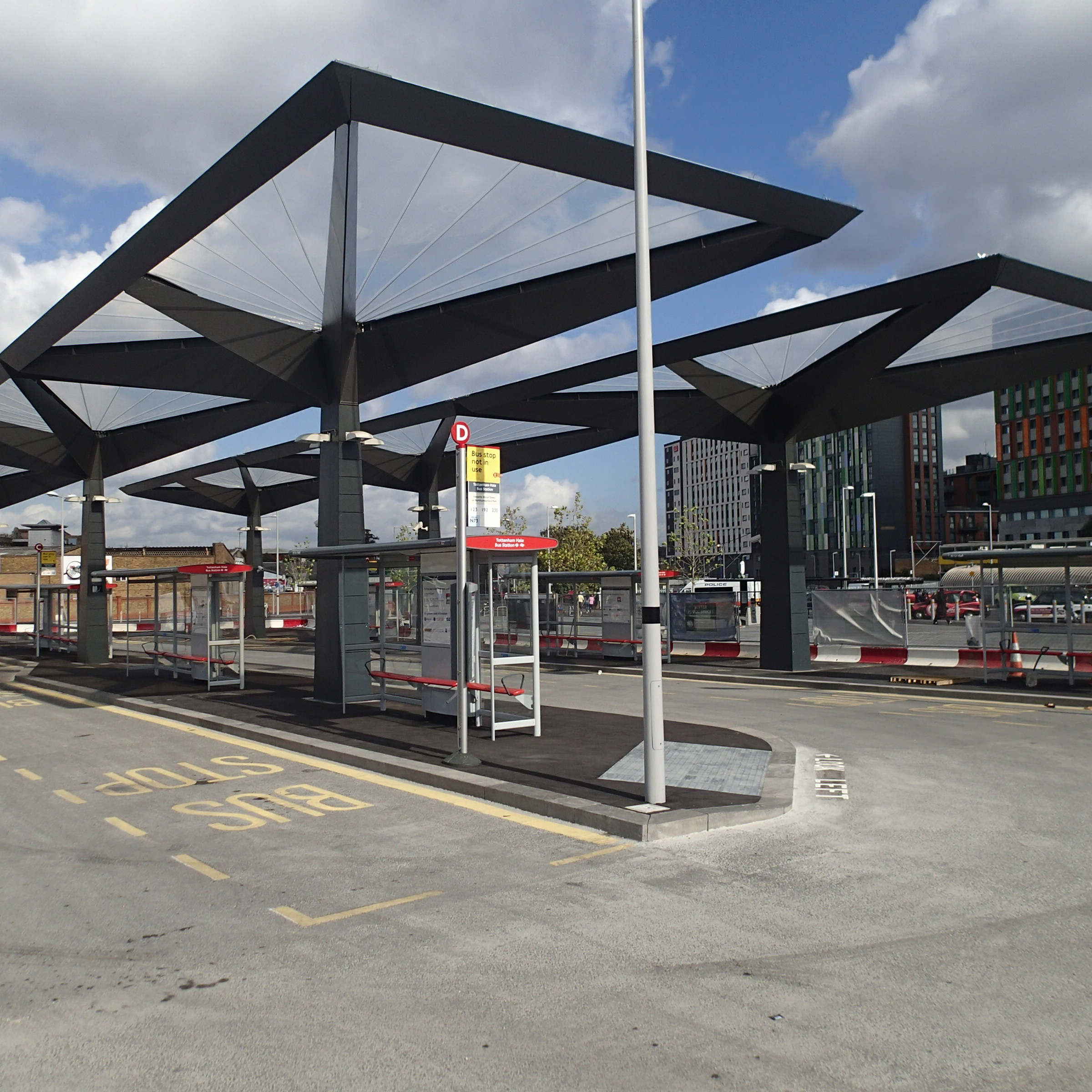 tottenham hale s new bus station the anonymous widower. Black Bedroom Furniture Sets. Home Design Ideas