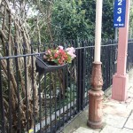 Flowers At Hanwell Station