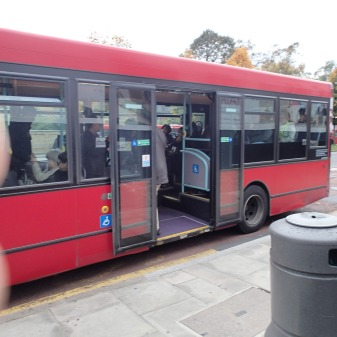 A Rather Tired West London Bus