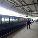 My Train Arrives At Pontypridd Station