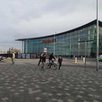 Sainsburys Opposite Blackpool North Station
