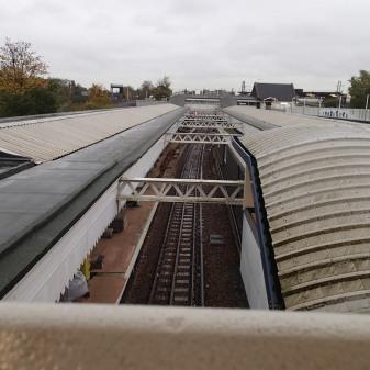 Platform Action At Willesden Junction Station