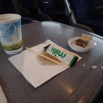 South West Trains Messy Tea