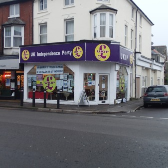 A Ukip Shop In Bournemouth