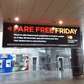 Another Fare Free Friday