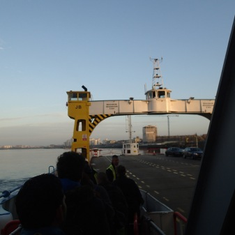 On The Woolwich Ferry