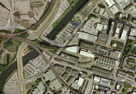 The Area Of The Ordsall Chord