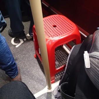 A Plastic Seat On A New Routemaster