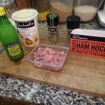 2. Rachel's Youghurt With Honey, A Bubble Of Ham Hock, Lemon Juice, Marjoram And Chives