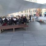 A Brass Band At Spitalfields