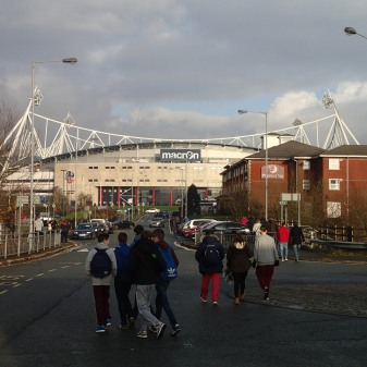 Walking To The Reebok Stadium From Horwich Parkway Station