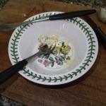 2. Cheese, Lemon Rind And Garlic Clove
