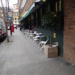 Outside Bill's Restaurant