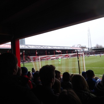 Standing At Brentford
