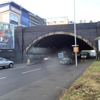 The Railway Bridge At New Southgate
