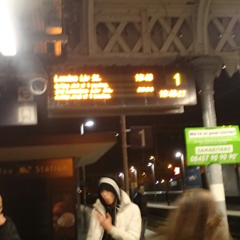 Information At Walthamstow Central