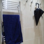 The Towel Rail And The Hooks