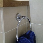 The Towel Ring By The Bath
