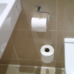 Toilet Roll Holder And Spare