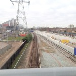 YTou Can Just See The Tunnel To Canary Wharf