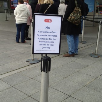 No Contactless Cards On The Emirates Air-Line