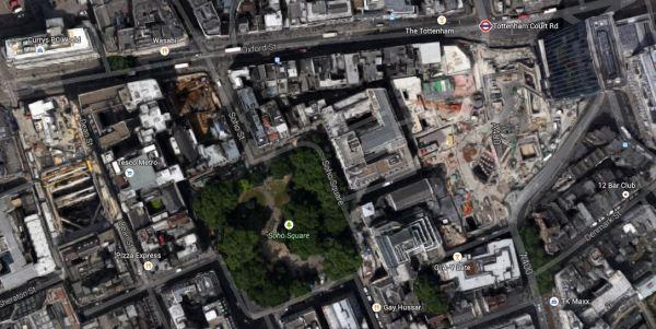 The Soho Square Area