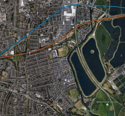 Map 2. Tottenham, Seven Sisters Area