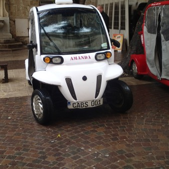Electric Taxi In Malta