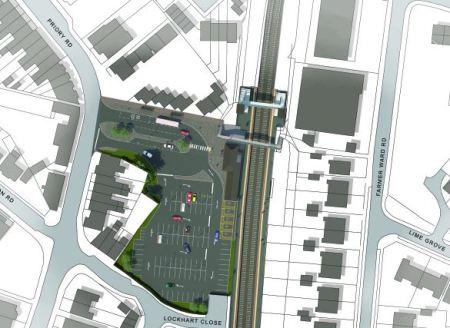 New Kenilworth Station Plan