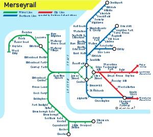 Merseyrail Network