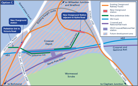 Option C Proposal At Old Oak Common