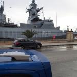 A Visiting German Warship