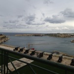 Grand Harbour From The Upper Barrakka Gardens