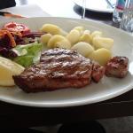 A Tuna Steak In Cafe Sicilia