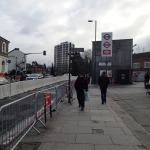 Work Starts On The Bridge At Highbury Corner