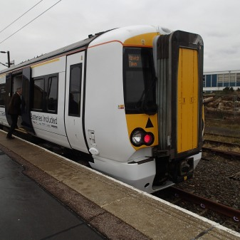 An Outwardly Normal Class 379 Train