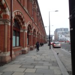 Sneaking In To St. Pancras
