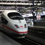 My ICE For Frankfurt